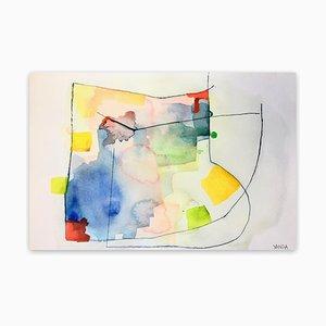 15 RV, Abstrakte Zeichnung, 2020