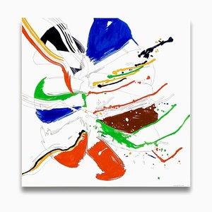 Jazz Cubano 42: Percussion, Abstract Drawing, 2012