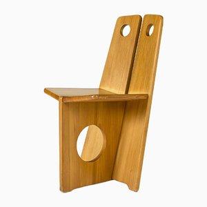 Pine Occasional Chair by Gilbert Marklund