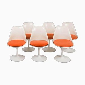 Tulip Chairs by Eero Saarinen for Knoll, Set of 6