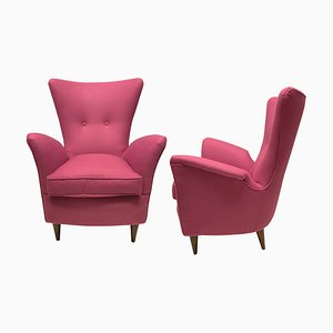 Armchairs by Melchiorre Bega, Set of 2
