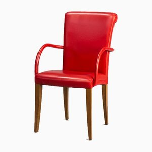 Vittoria Dining Armchairs from Poltrona Frau, 1990s, Set of 6