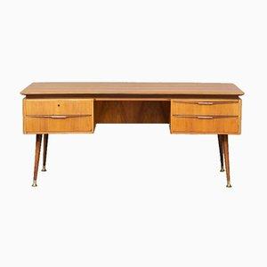 Freistehender Schreibtisch von Erwin Behr, 1950er