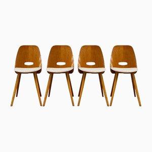 Chairs by František Jirák for Tatra Pravnec, 1960s, Set of 4