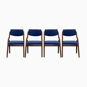 Chairs by Ludvik Volak for Drevopodnik Holesov, 1970s, Set of 4