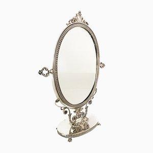800 Silver Table Mirror, 1900s