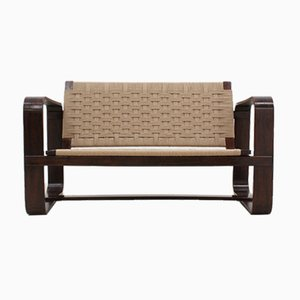 2-Sitzer Sofa von Giuseppe Pagano für Gino Maggioni, 1940er