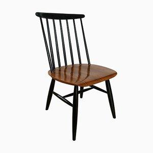 Mid-Century Oak & Teak Fanett Chairs by Ilmari Tapiovaara, 1950s, Set of 2