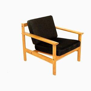 Scandinavian Oak Chair, Sweden, 1960s