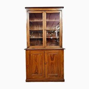 Napoleon III Walnut and Oak Store Library