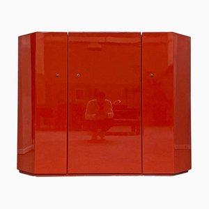 Italian Model Bramante Red Cabinet by Kazuhide Takahama for Gavina, 1975