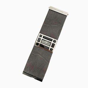 Reloj vintage de cuero de Valentino