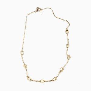 Vintage Gold und Metall Ohrstecker Halskette von Valentino Garavani