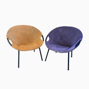 Balloon Chairs von Lusch & Co., 1960er, 2er Set