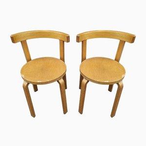 Chaises Modèle 68 par Alvar Aalto pour Artek, Set de 2