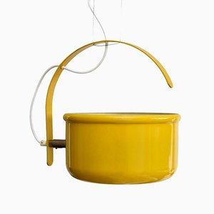 Lampe à Suspension Balance Jaune par Hans-Agne Jakobsson pour Markaryd