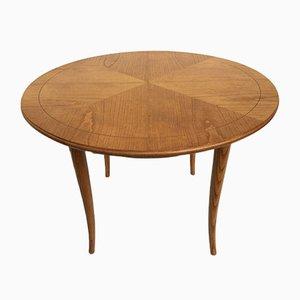Round Art Deco Style Coffee Table, 1950s