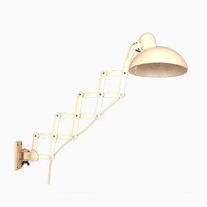 Scissor Wall Lamp by Christian Dell for Kaiser Idell / Kaiser Leuchten, 1940s