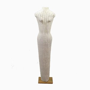 Vintage Wicker Mannequin, 1980s