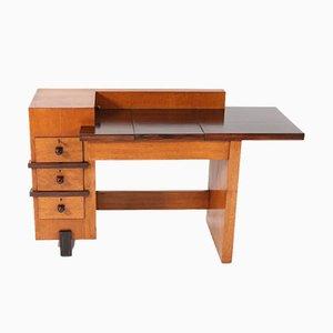 Oak Art Deco Hague School Desk by Henk Wouda for Pander, 1924