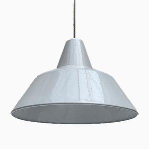 Large Mid-Century Danish Pendant Lamp by Emaille Amatur for Louis Poulsen