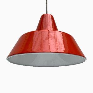 Mid-Century Danish Pendant Lamp by Emaille Amatur for Louis Poulsen