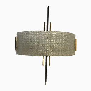 Large Sconce from Arlus France, 1950s