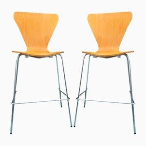 Hohe Stühle, 1980er, 2er Set