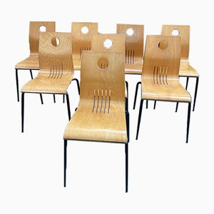 Chairs, 1980s, Set of 8