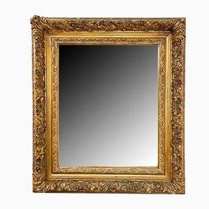 Französischer Antiker Vergoldeter Spiegel, 19. Jh