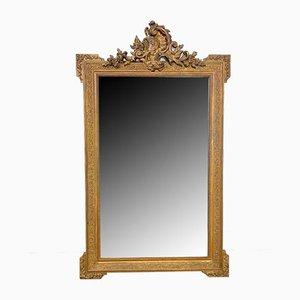 Antique French Napoleon III Gilt Mirror