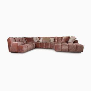 Ocean 7 Pink Fabric Sofa from Bretz