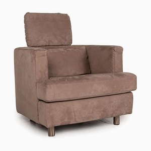 Brown Fabric Lounge Chair from Rolf Benz