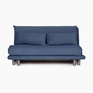 Blaues 3-Sitzer Sofa mit Stoffbezug von Ligne Roset