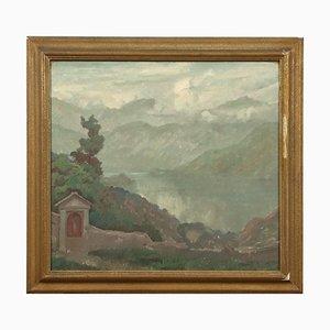 Daniele Fontana, Öl auf Leinwand