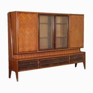 Cabinet in Veneered Wood, Italy, 1950s