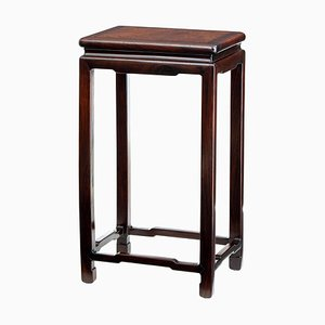 Late 19th Century Chinese Burr Side Table