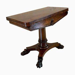 Tavolo da gioco Guglielmo IV antico