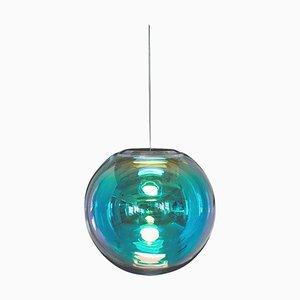 Cyan-Magenta Iris Globe 40 by Sebastian Scherer