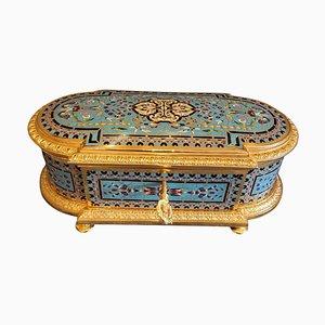 Gilt Bronze and Cloisonné Enamel Box, 19th Century