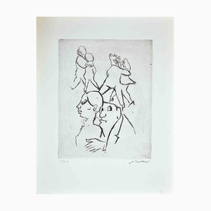 Mino Maccari, Dance, 1970s, Original Print