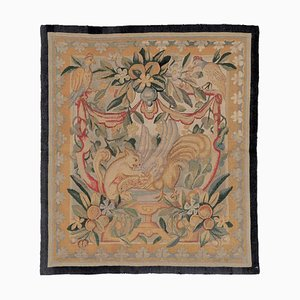 18th Century Small Fruit and Floral Green Yellow Red Tapestry, 1780s