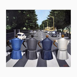 Italienische Kunst von Andrea Vandoni, Abbey Road, 2017