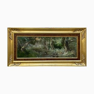 Pompeo Mariani, Zelata, 1897, Oil on Wood