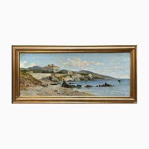 Lorenzo Gelati, Asyl von Pozzuoli, 1894 Öl auf Leinwand