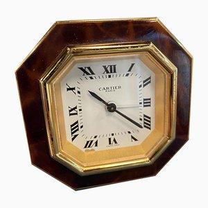 Vintage Cartier Travel Alarm Clock, 1978