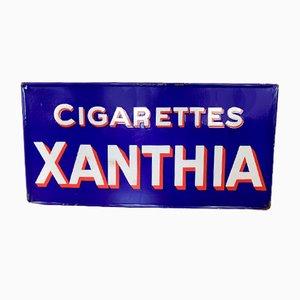 Cartel de cigarrillos Xanthia, años 30