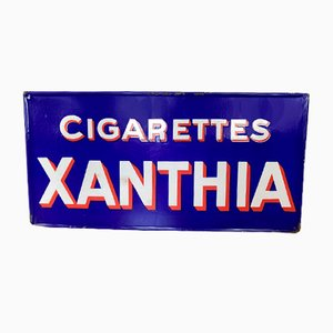 Insegna Xanthia di sigarette, anni '30