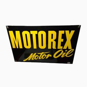 Insegna Motorex, anni '50