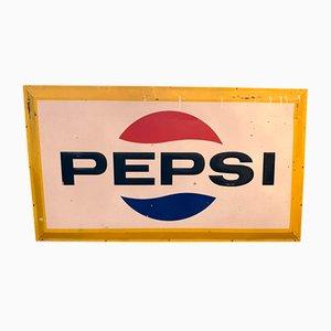 Cartel de Pepsi de chapa, años 70